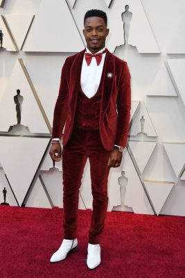 Stephan James in Etro