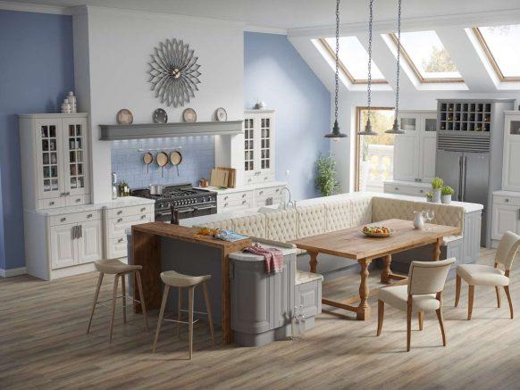Interiors at Cherrymore Kitchens