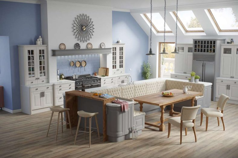 Interiors at Cherrymore Kitchens