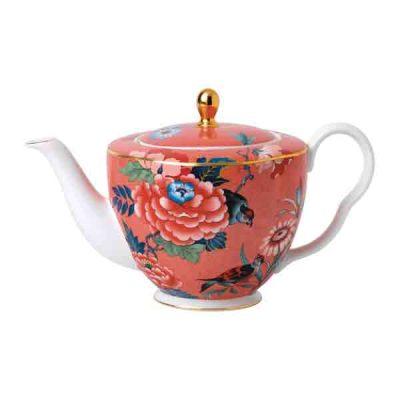 Wedgewood-coral-teapot,-Amara-€149
