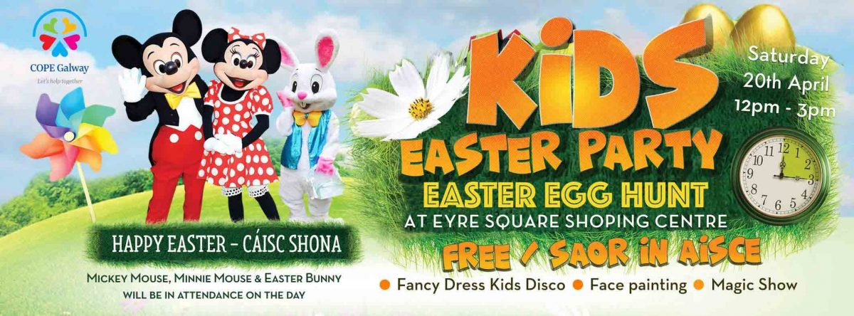 Eyre Square Shopping Centre Easter Egg Hunt