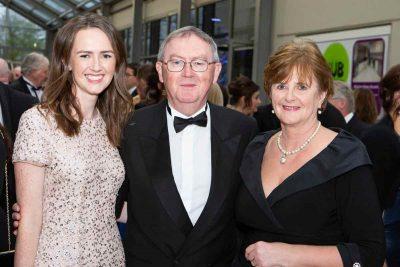 Maeve O'Rourke, Sean O'Rourke and Caroline Murphy