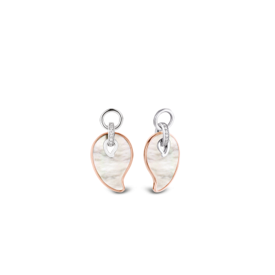 Ti Sento Mother of Pearl ear charms, Fallers €119