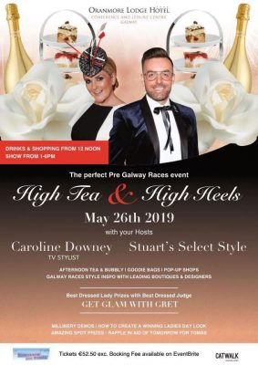 High Tea & High Heels event in Oranmore