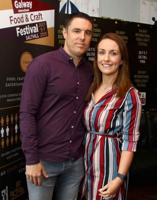 ANDREW CAULFIELD AND REBECCA GREALY CONNACHT HOSPITALITY