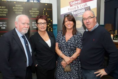 DONAL SHARON O'REILLY WITH YVETTE AND JOE QUINN