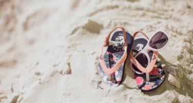 Baby sandals & sunglasses