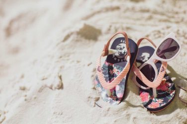 Baby sandals & sunglasses