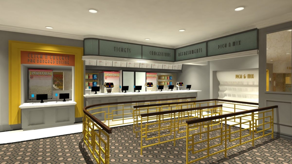 Artist Impression of the new luxury Omniplex