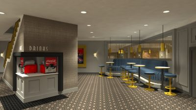 Artist Impression of the New Omniplex Cinema