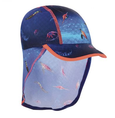 Baker by Ted Baker blue deep sea print hat, Debenhams- €20