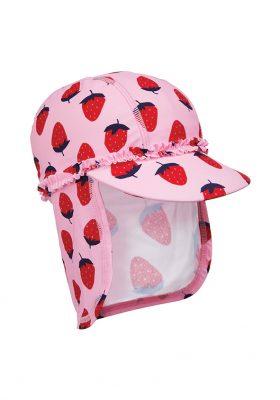 Pink strawberry sunsafe Keppi-hat, Mothercare €8.99