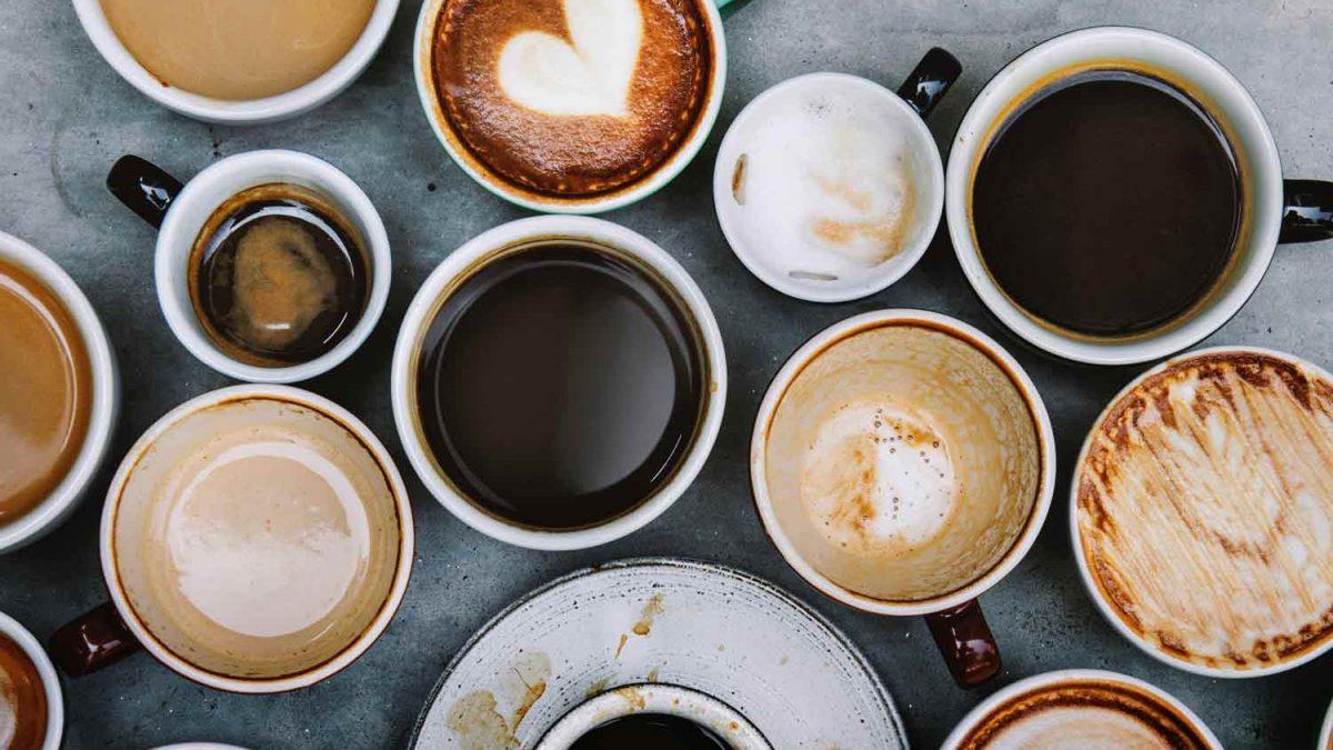 Coffee backdrop