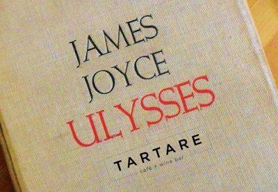 James Joyce Ulysses at Tartare Galway