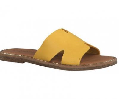 Tamaris Flat Sandal - 27135-32 - Yellow - €40.00
