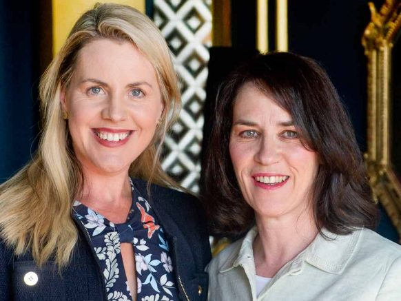 Olivia Frawley, Director of Sales at the g Hotel, & Noreen D'Arcy, D'Arcy Marketing & PR