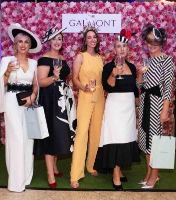Donna Ollerenshaw (Ballgluinin), Melissa Carty (Craughwell), Stylist Ciara O'Doherty, Mary Carty (Craughwell) and Gemma McDonagh (Headford) Photo: Andrew Downes, xposure