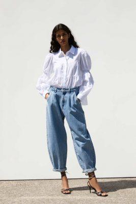Slouchy Darted Jeans - Zara - €39.95