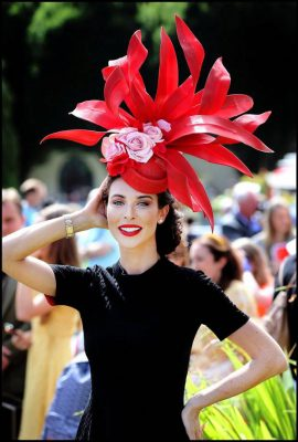 Gemma Gleeson Most Creative Hat -Image: Steve Humphreys