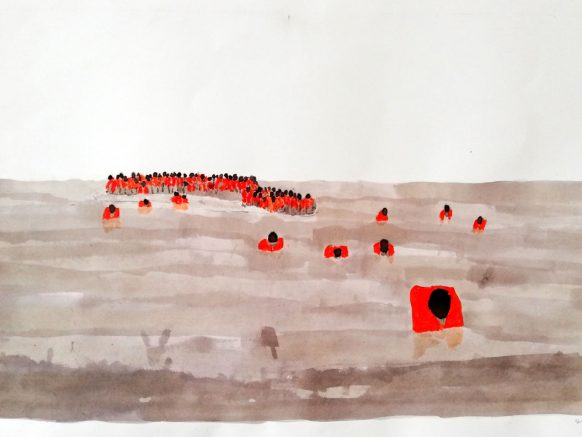 Hugh Murphy-Displaced Nation Lifeboat