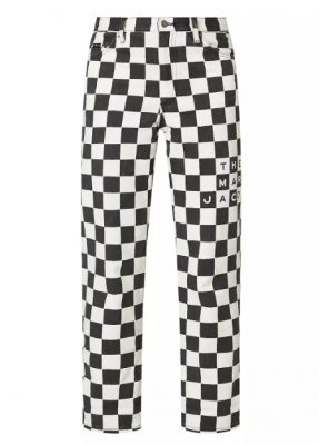 Marc Jacobs Checked Turn-Up Jeans - Brown Thomas - €305.00