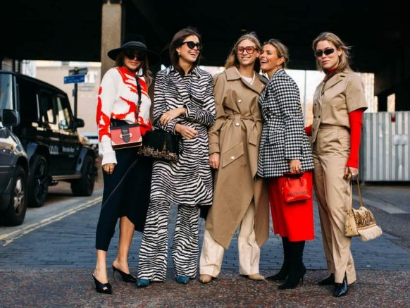 London Fashion Week AW19 street style, February 2019 ( Imaxtree )