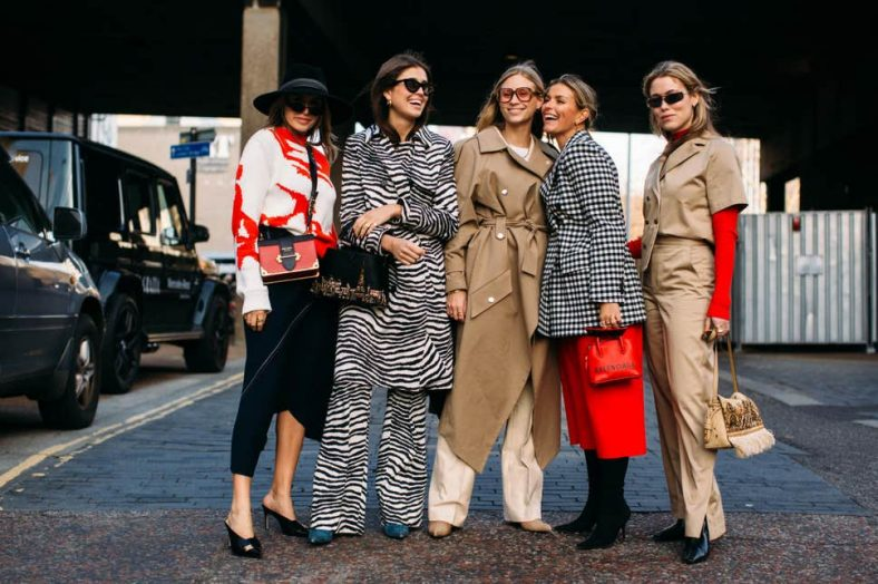 London Fashion Week AW19 street style, February 2019 ( Imaxtree )