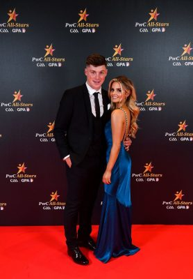 Wexford hurler Conor McDonald with Melissa Tyndall