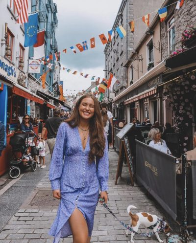 galway influencer fashion travel fitness