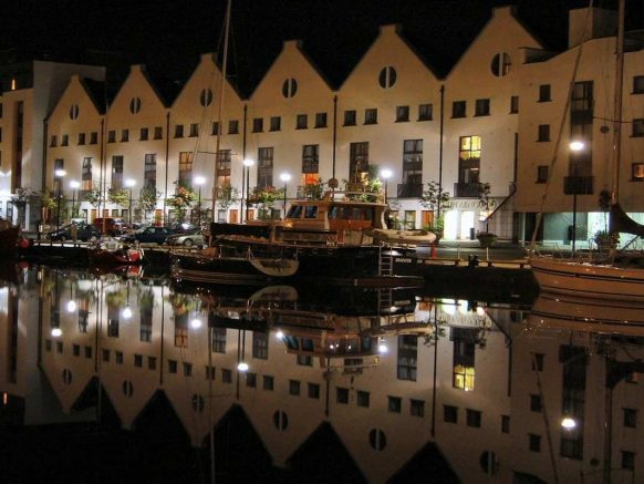Galway at night image: TBEX.com