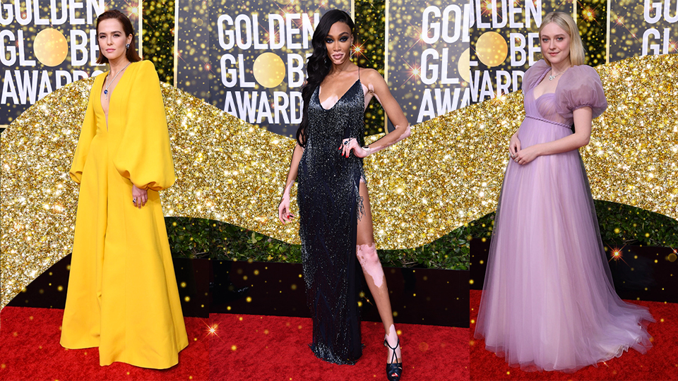 Celebrities stunned at the 77th Annual Golden Globes at the Beverly Hilton in Beverly Hills.