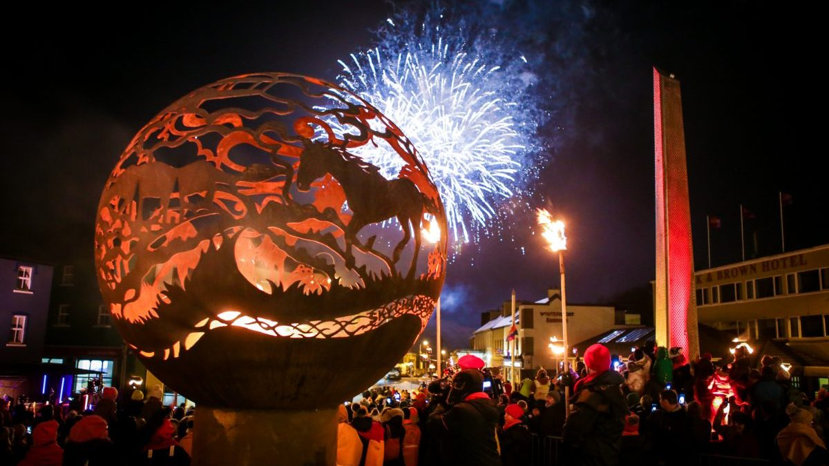Clifden Lighting Ceremonies for Galway 2020
