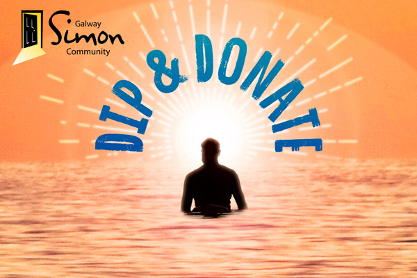 Dip & Donate for Galway SImon Community