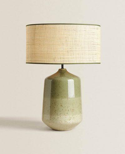Zara Home lamp with ceramic base €149