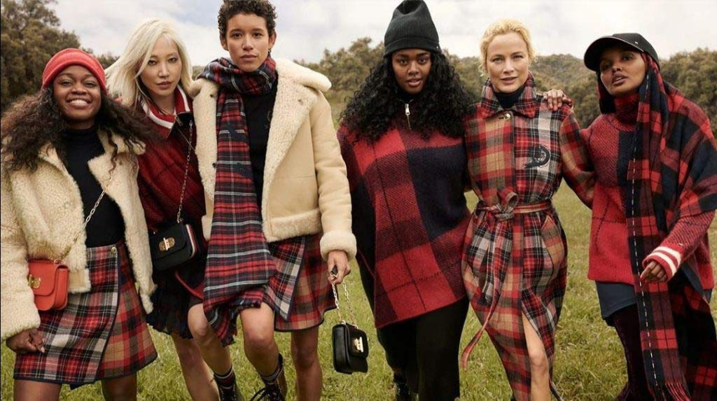 Tommy Hilfiger Models in Autumn Winter shoot