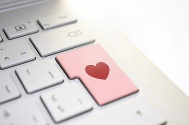 Love key on keyboard