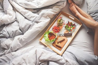 Feature Image, Breakfast in bed