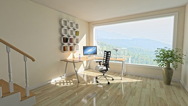 Feature Image, desk with window