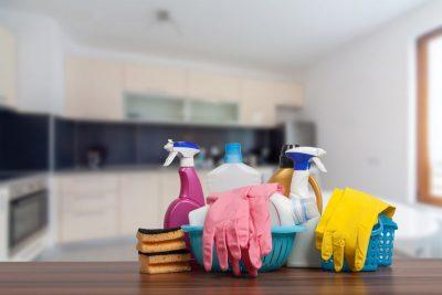 cleaning utensils