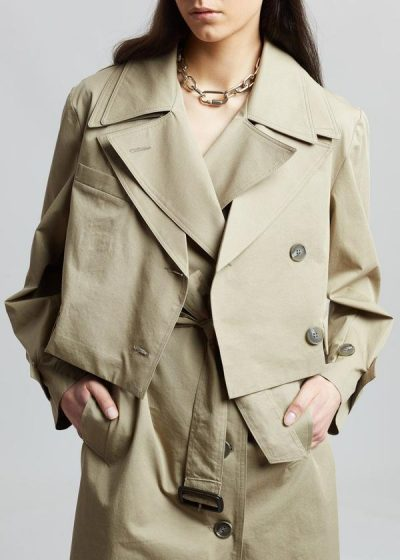 frankie shop trench coat